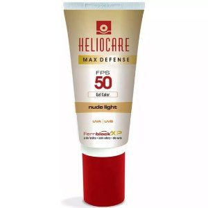 Heliocare Max Defense Fps 50 Gel Nude Light 50g