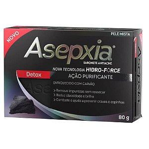 Asepxia Sabonete Em Barra Detox Purificante 80g