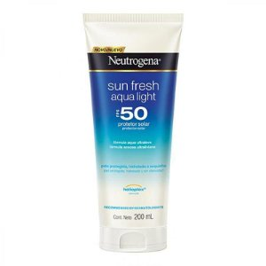 Protetor Solar Neutrogena Sun Fresh Aqua Light Fps 50 200ml