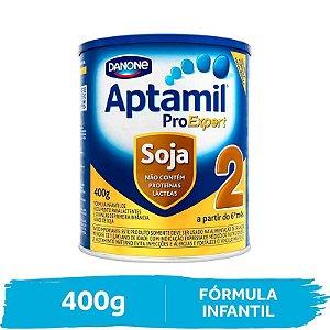 Aptamil Soja 2 Fórmula Infantil Pro Expert 400g Danone