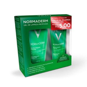 Kit Gel De Limpeza Profunda Normaderm 150g + 60g Vichy