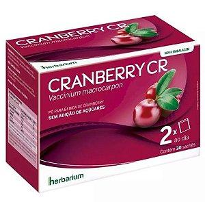 Cranberry Cr Com 30 Sachês 5g Cada Herbarium