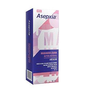 Asepxia Maquiagem Líquida Autoajustável Antiacne Fps15 30ml