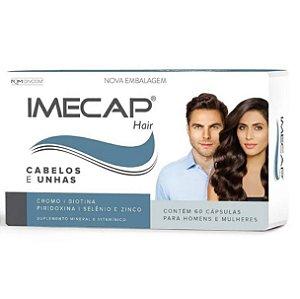 Imecap Hair Cabelos E Unhas Com 60 Cápsulas Divcom