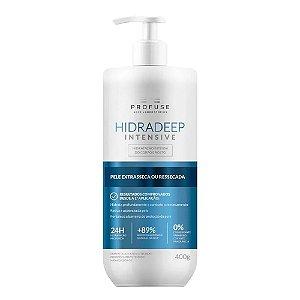 Hidradeep Intensive Profuse Loção Hidratante Corporal e Facial 400g