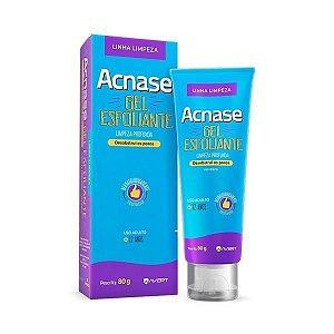 Acnase Gel Esfoliante Limpeza Profunda Antiacne Facial 80g