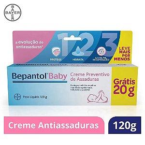 Bepantol Baby Creme Preventivo De Assadura 100g + 20g Gts