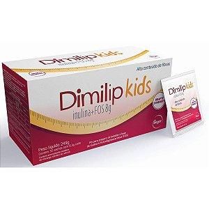 Dimilip Kids Com 30 Sachês Sabor Morango