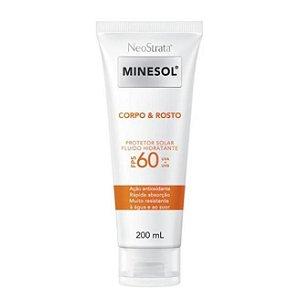 Neostrata Minesol Protetor Solar Rosto E Corpo Fps 60 200ml