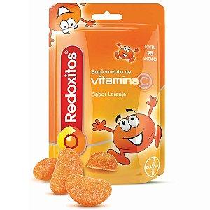 Redoxitos Laranja Com 25 Gominhas Vitamina C