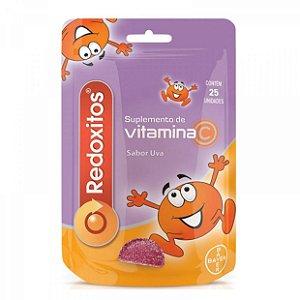 Redoxitos Sabor Uva Com 25 Unidades Vitamina C