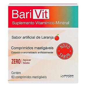 Barivit Sabor Laranja com 60 Comprimidos