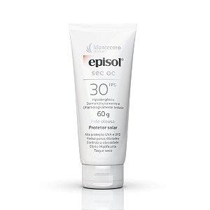 Protetor Solar Facial Episol Sec Oc Pele Oleosa Fps 30