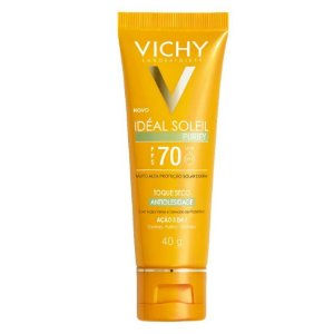 Protetor Solar Vichy Ideal Soleil Purify Fps 70