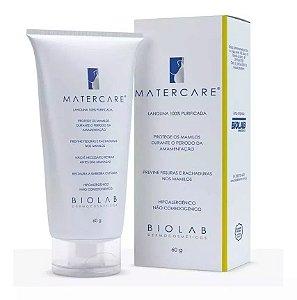 Mater Care Creme Hidratante Hipoalergênico 60g Biolab