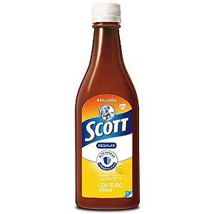Scott Emulsão Tradicional Suplemento De Vitamina A e D 400ml
