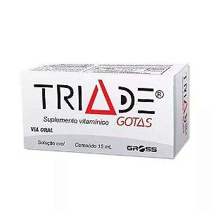 Triade Suplemento Vitaminico Em Gotas 15ml Gross