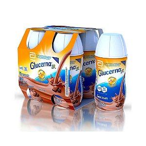 Complemento Alimentar Glucerna Sr Chocolate 200ml 4 Unidades