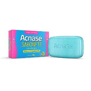 Acnase Clean Sabonete Em Barra Antiacne 80g
