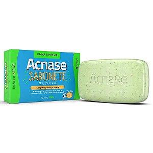 Acnase Clean Sabonete Esfoliante Facial Antiacne 80g
