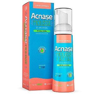 Acnase Mousse De Limpeza Facial 80ml