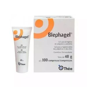 Blephagel Gel Ocular 40g Com 100 Compressas