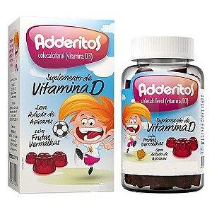 Adderitos Suplemento De Vitamina D Com 30 Gomas