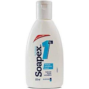 Sabonete Líquido Antisséptico Soapex 120ml 1% Triclosano