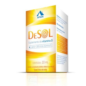 Desol Gotas 10ml Suplemento De Vitamina D