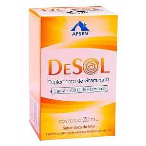 Desol Gotas 20ml Suplemento De Vitamina D