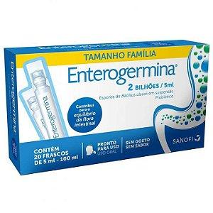 Enterogermina 2 Bilhões 5ml Com 20 Frascos