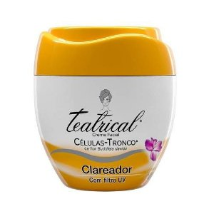 Creme Facial Clareador Teatrical 100g
