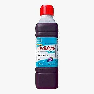 Pedialyte Max Uva Suplemento Hidreletrolítico 500ml