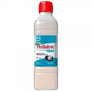 Pedialyte Max Coco Suplemento Hidreletrolítico 500ml
