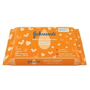 Johnson's Baby Toalhinhas Limpeza E Suavidade 44 Unidades