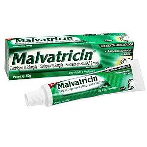 Gel Dental Malvatricin 50g