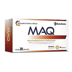 Maq Com 30 Comprimidos Suplemento De Vitaminas E Minerais