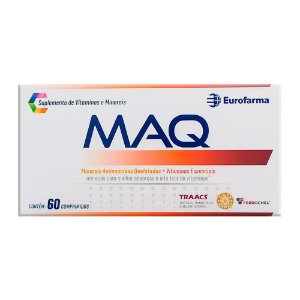 Maq Com 60 Comprimidos Suplemento De Vitaminas E Minerais
