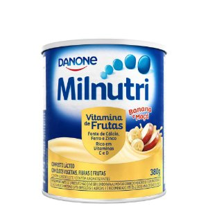 Milnutri Vitamina De Frutas Danone Composto Lácteo 380g
