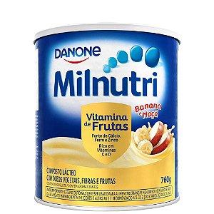 Milnutri Vitamina De Frutas Danone Composto Lácteo 760g