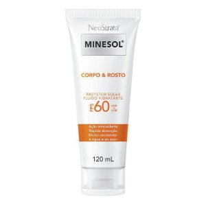 Neostrata Minesol Protetor Solar Corpo e Rosto Fps 60 120ml