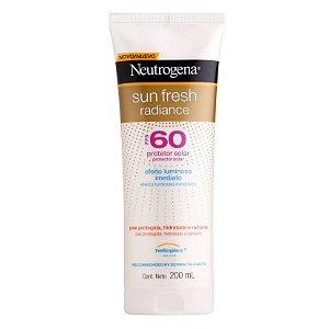 Neutrogena Sun Fresh Radiance Protetor Solar Fps 60 200ml
