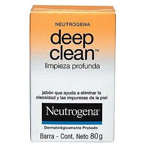Neutrogena Deep Clean Sabonete Limpeza Profunda 80g