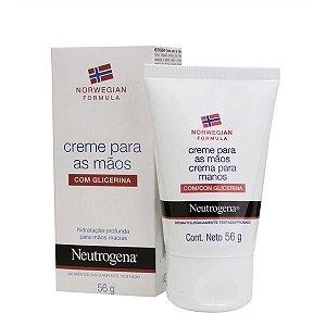 Neutrogena Norwegian Hidratante para Mãos Com Glicerina 56g