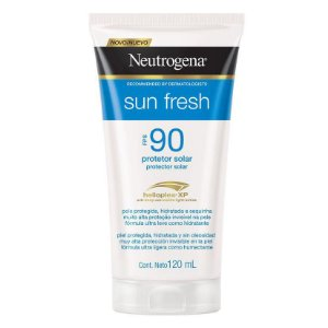 Neutrogena Sun Fresh Fps 90 Protetor Solar 120ml