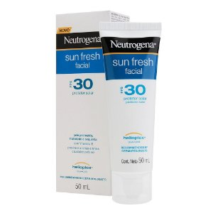 Neutrogena Sun Fresh Facial Fps 30 Protetor Solar 50ml