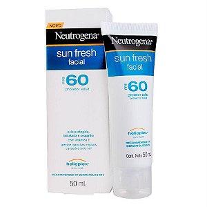 Neutrogena Sun Fresh Facial Fps 60 Protetor Solar 50ml