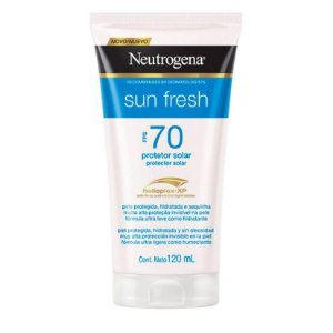 Neutrogena Sun Fresh Fps 70 120ml  Protetor Solar