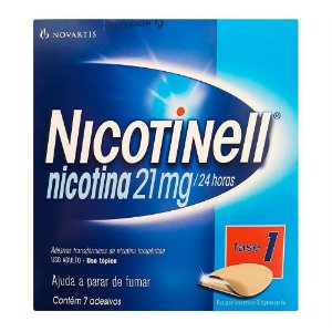 Nicotinell 21mg Adesivos Com 7 Unidades