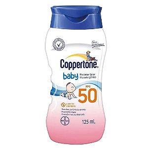 Coppertone Baby Loção Fps 50 Bayer 125ml